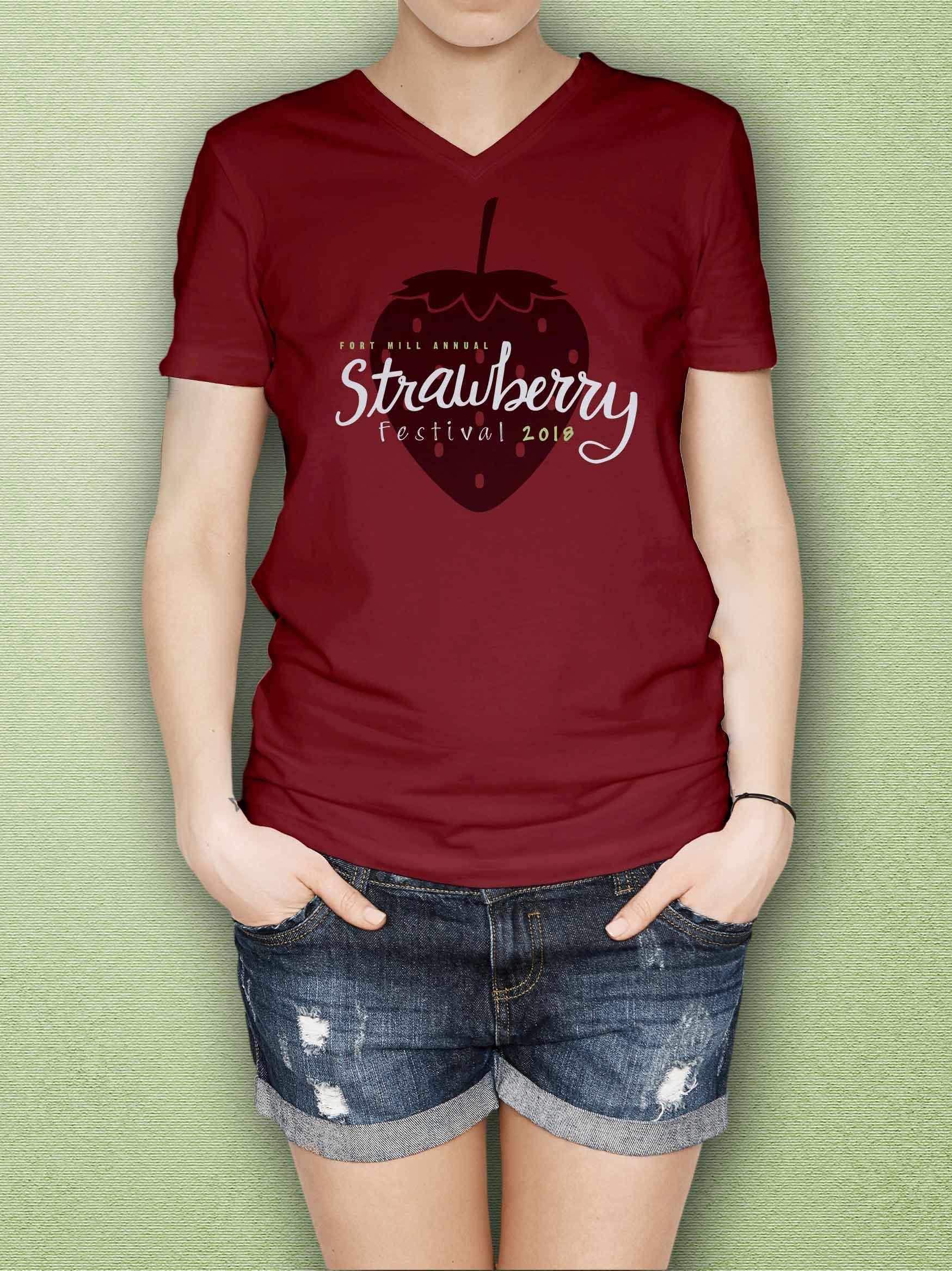Graphic Design- strawberry festival