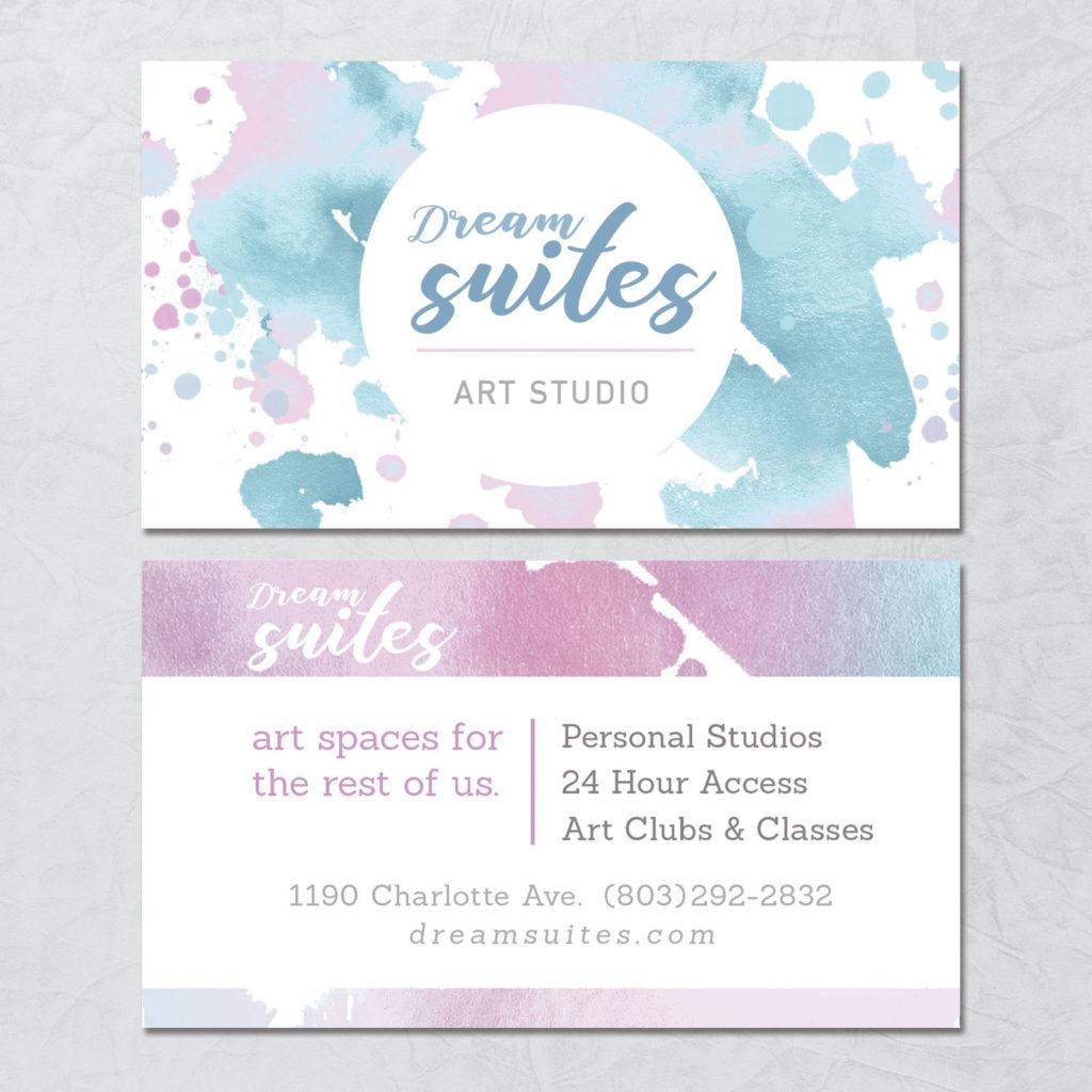 Dream Suites Business Card