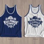 Full Force Basketball Tank