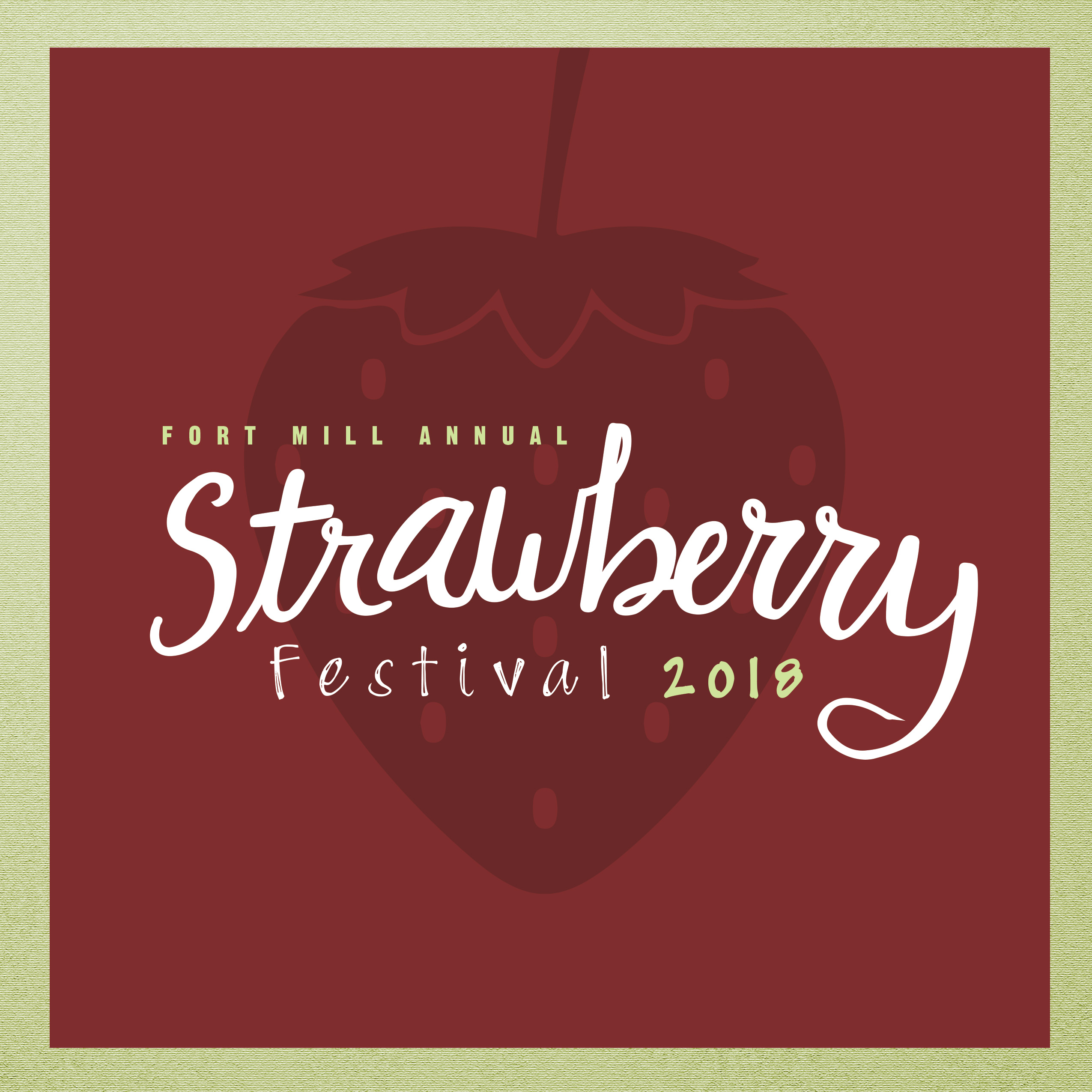 Strawberry Festival Promotional Graphic