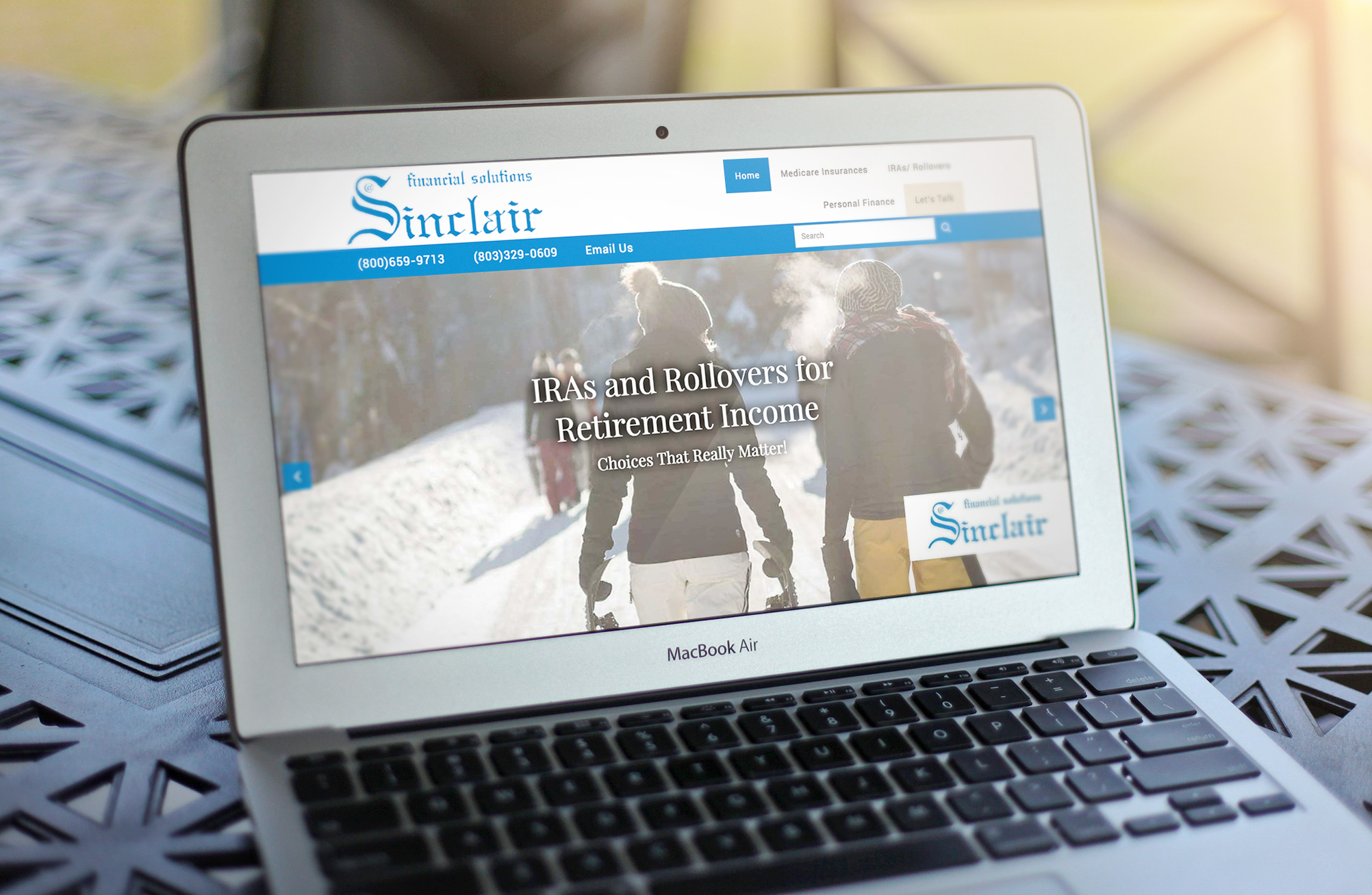 Sinclair Financial Solutions Website